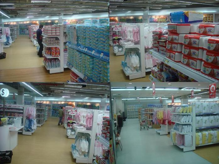 Baby Dept in Carrefour